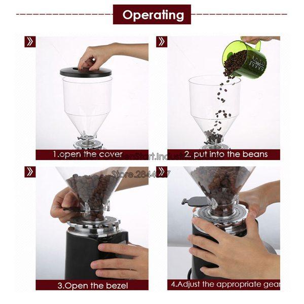 آسیاب نیمه صنعتی قهوه
