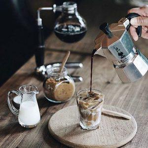 دم کردن قهوه با موکاپات
