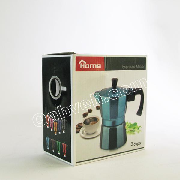 قهوه جوش رنگی 3کاپ