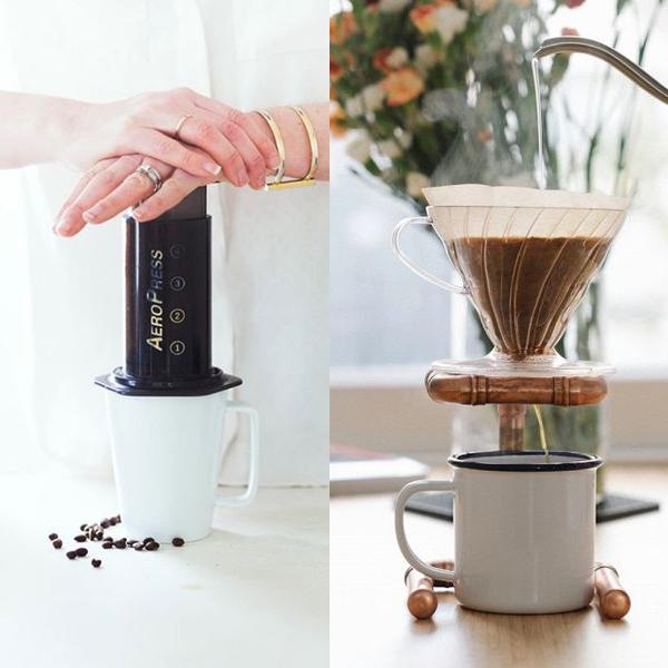 قهوه ساز ایروپرس و v60