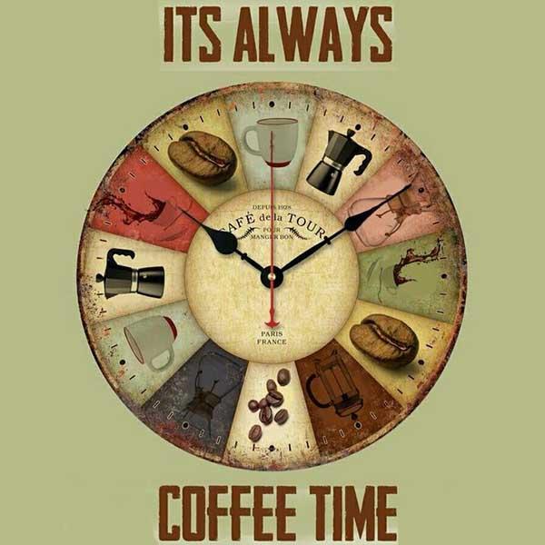 زمان دم کردن قهوه