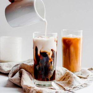 انواع نوشیدنی قهوه با شیر