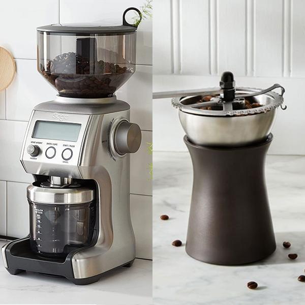 آسیاب قهوه دستی یا برقی